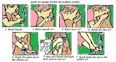 how to make wudu guide